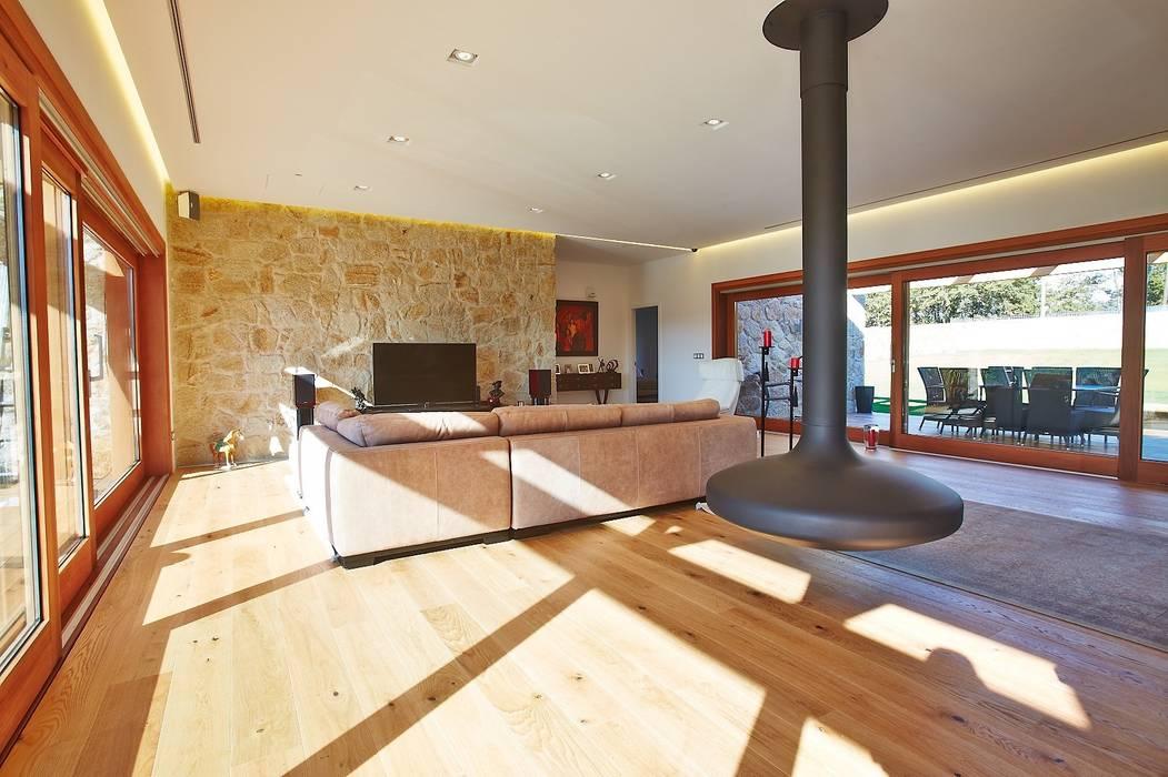 HUGA ARQUITECTOS Living room