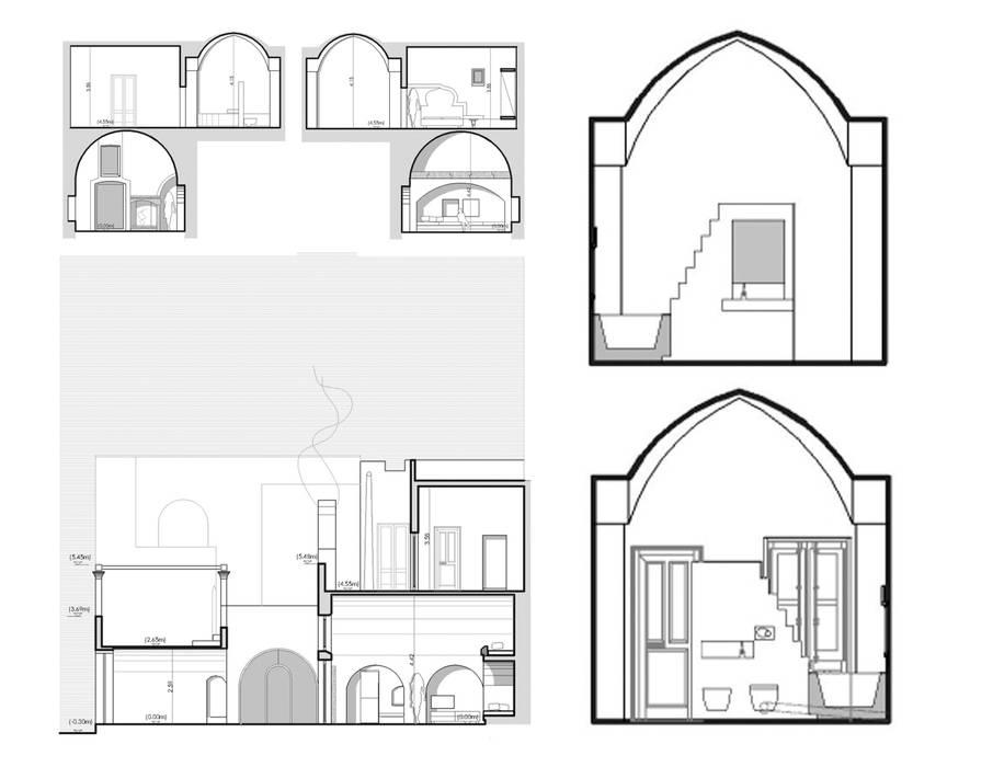 Via Chiesa 5: Case in stile  di Studio Ricciardi Architetti