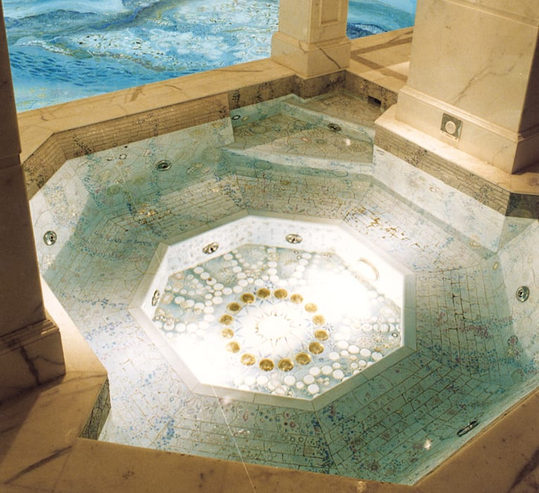 Diamond Pool and Spa Spa moderne par London Swimming Pool Company Moderne