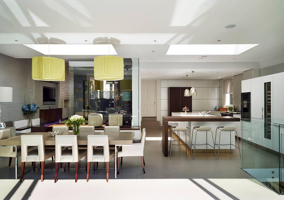 Victorian house conversion Modern kitchen by Genevieve Hurley Interiors Ltd Modern
