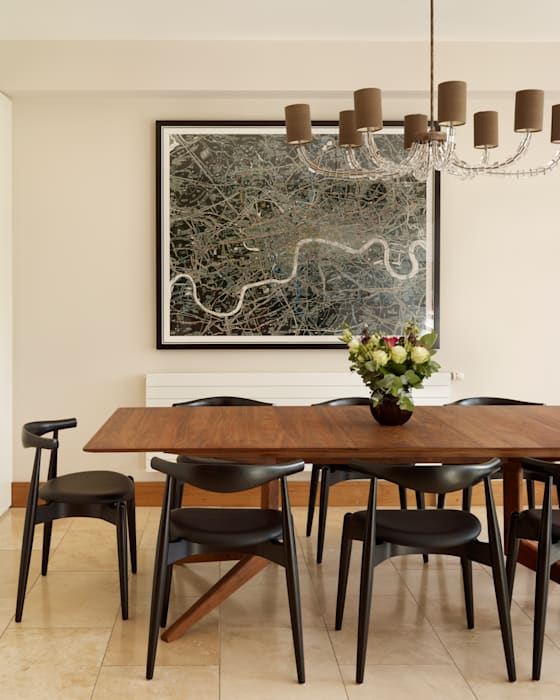 Contemporary townhouse:  Kitchen by Kitchen Architecture