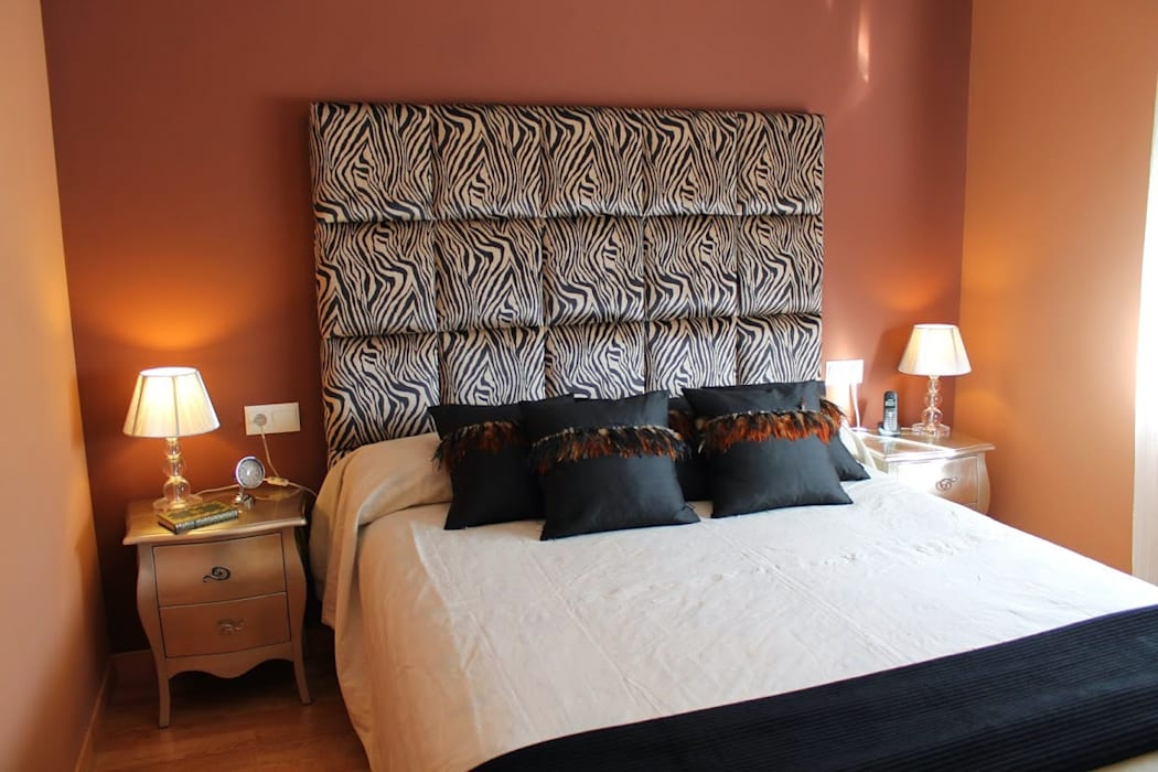 Decoración dormitorio Dormitorios de estilo moderno de Ámbar Muebles Moderno
