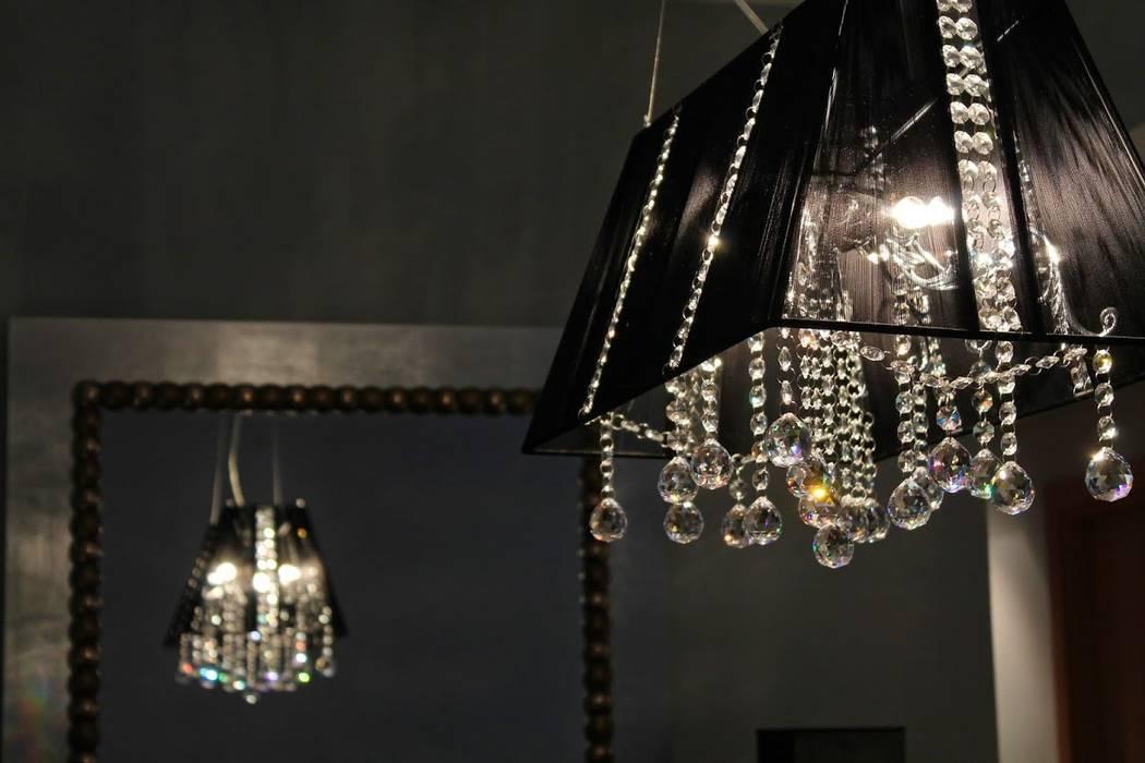 Foto detalle lámpara comedor Ámbar Muebles Comedores de estilo moderno
