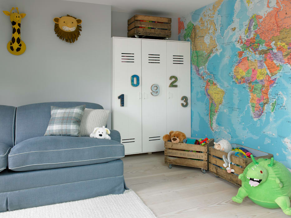 Детские комнаты в . Автор – LEIVARS, Эклектичный