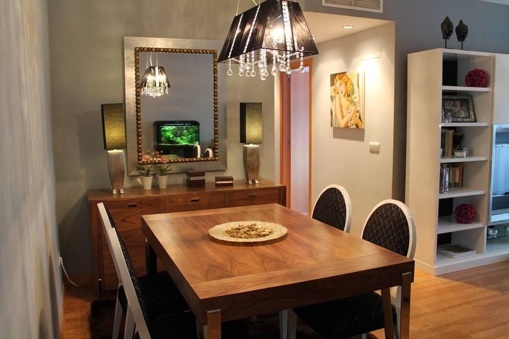Foto decoración comedor: Comedores de estilo moderno de Ámbar Muebles