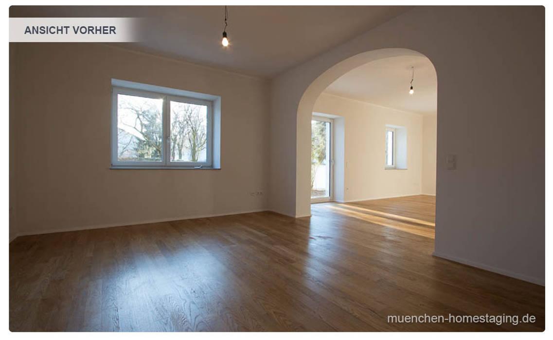 Esszimmer ohne Home Staging:  Esszimmer von Münchner HOME STAGING Agentur