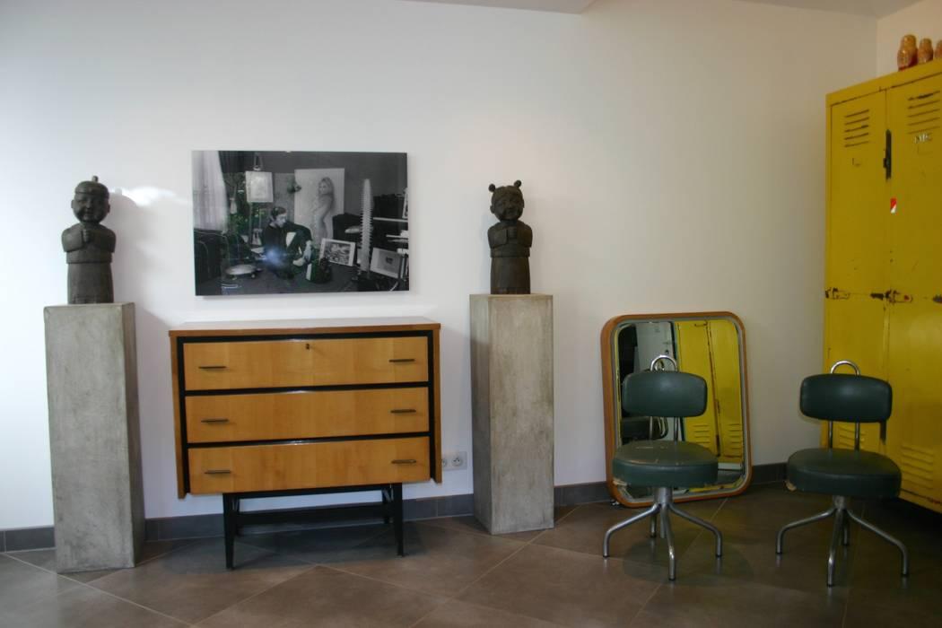 Vintage: Salon de style  par mia casa,