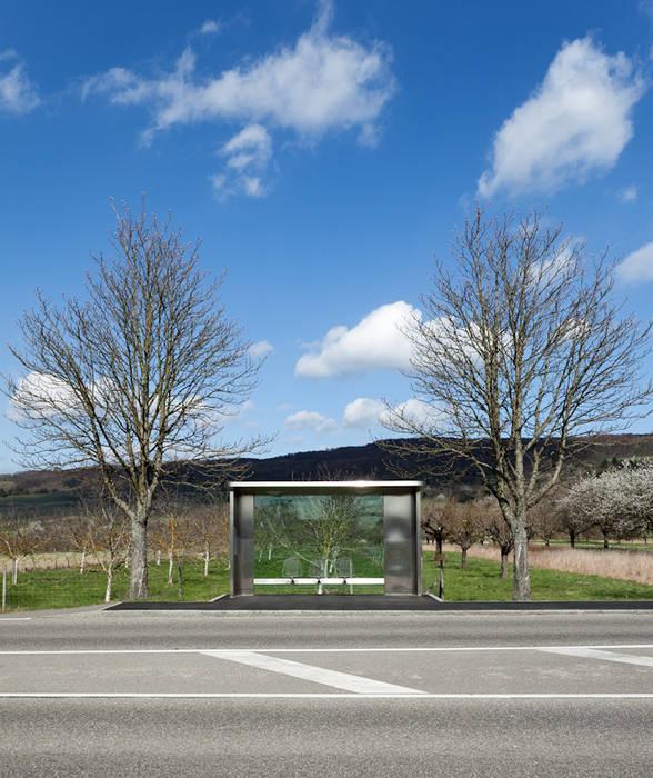 Vitra Campus.Bus stop. Museos de estilo moderno de Marcela Grassi Photography Moderno