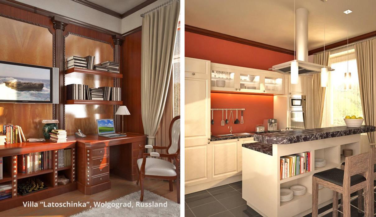 Cocinas de estilo clásico de GID│GOLDMANN-INTERIOR-DESIGN - Innenarchitekt in Sehnde Clásico