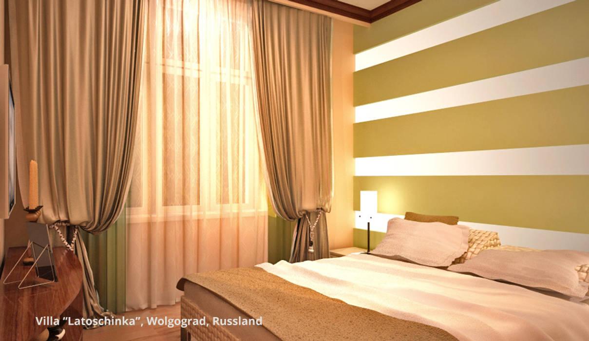 Dormitorios de estilo clásico de GID│GOLDMANN-INTERIOR-DESIGN - Innenarchitekt in Sehnde Clásico