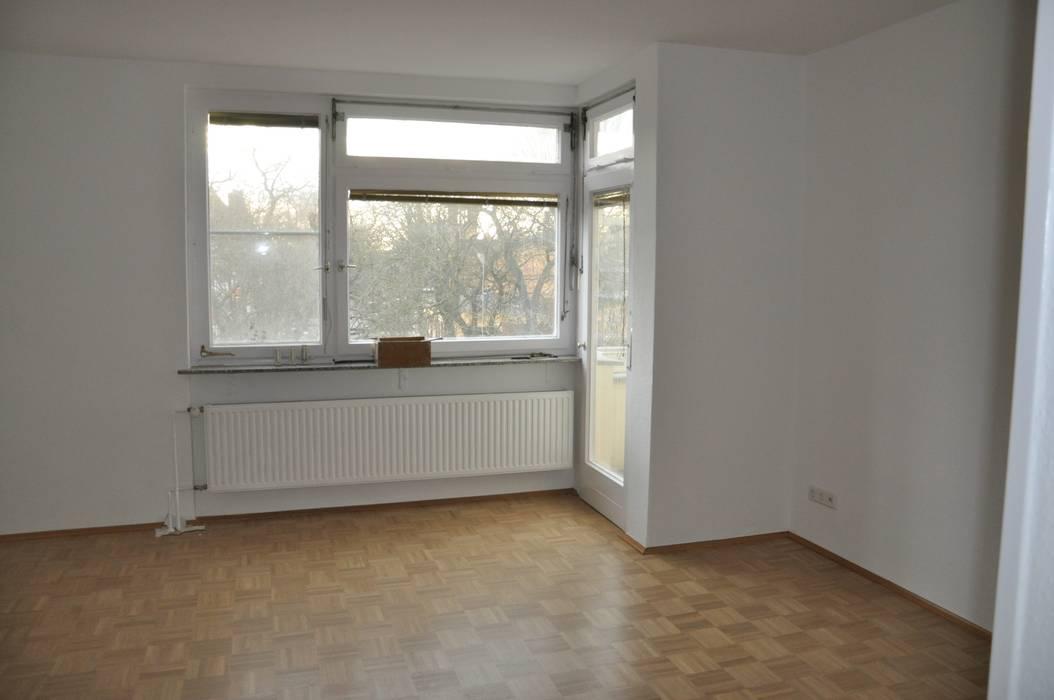 Leerer Essbereich:  Wohnzimmer von Optimmo Home Staging