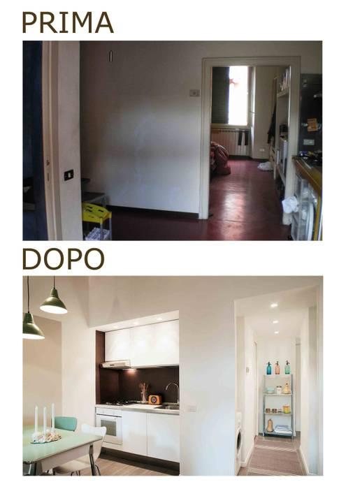 angolo cottura: Case in stile in stile Moderno di marta novarini architetto