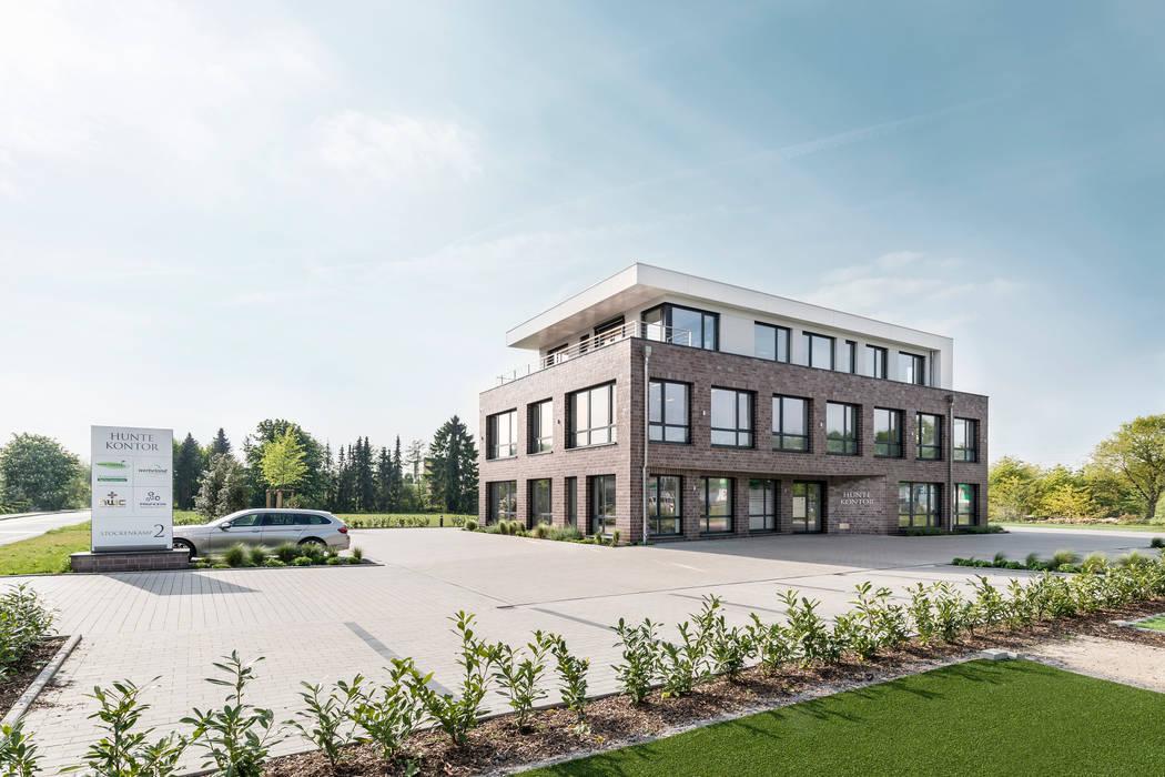 Hunte Kontor Wildeshausen:  Arbeitszimmer von Hellmers P2 | Architektur & Projekte