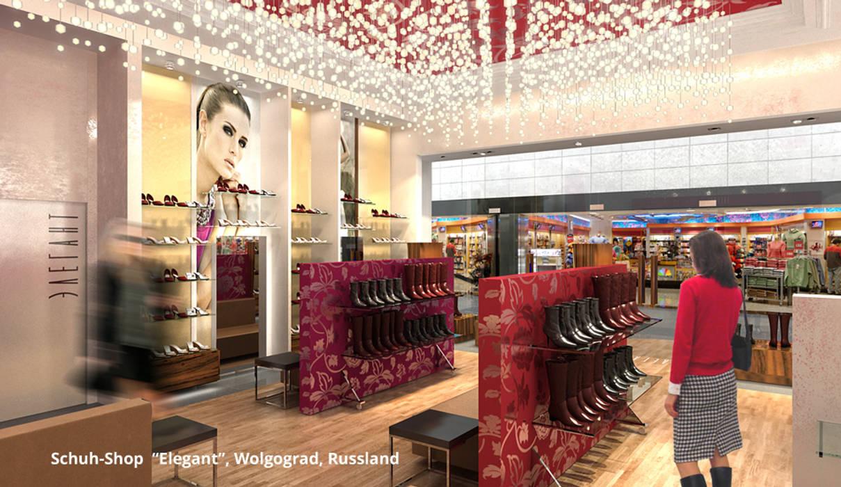 """Elegant-Shop - Bereich 2:  preislich moderate """"Basic-Ware"""":  Ladenflächen von GID│GOLDMANN-INTERIOR-DESIGN - Innenarchitekt in Sehnde"""