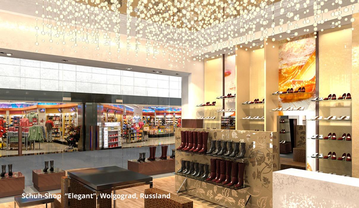 """Elegant-Shop - Bereich 1: hochwertige """"Designer-Ware"""":  Ladenflächen von GID│GOLDMANN-INTERIOR-DESIGN - Innenarchitekt in Sehnde"""