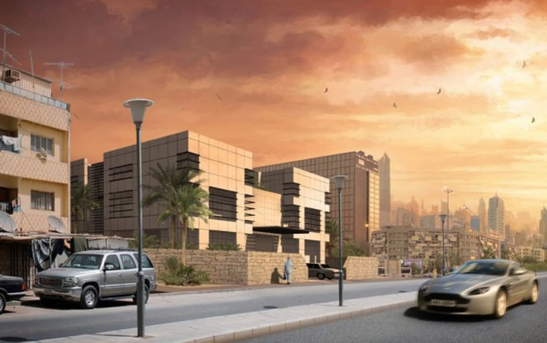 Luxury Villa In Kuwait City Modern Houses by 4D Studio Architects and Interior Designers Modern