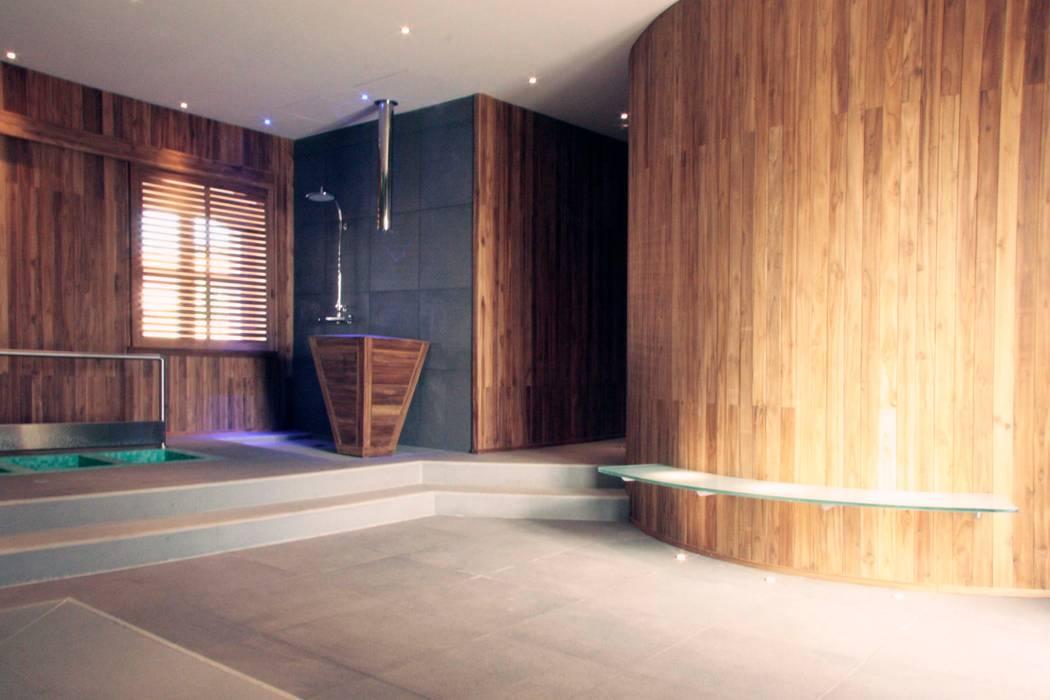 Il Centro Benessere di Villa Bonocore Maletto - San Lorenzo ai colli Spa moderna di Studio di Architettura e Design Moderno