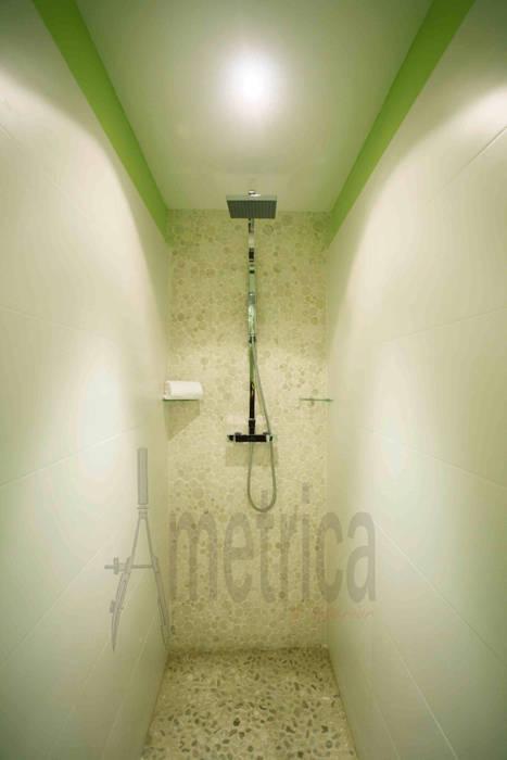 Vista de Ducha Baños de estilo ecléctico de Ametrica & Interior, S.L. Ecléctico