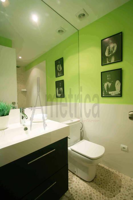 Baño Baños de estilo ecléctico de Ametrica & Interior, S.L. Ecléctico