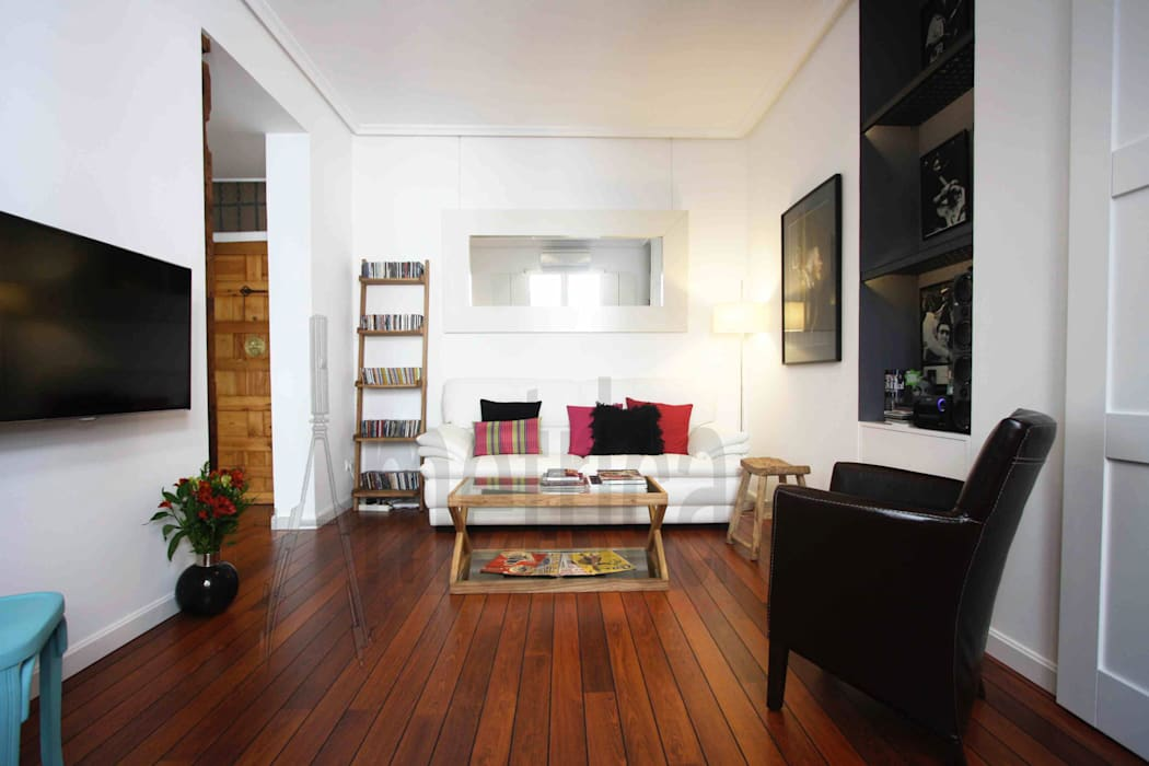 Vista Parcial 2: Salones de estilo  de Ametrica & Interior, S.L.