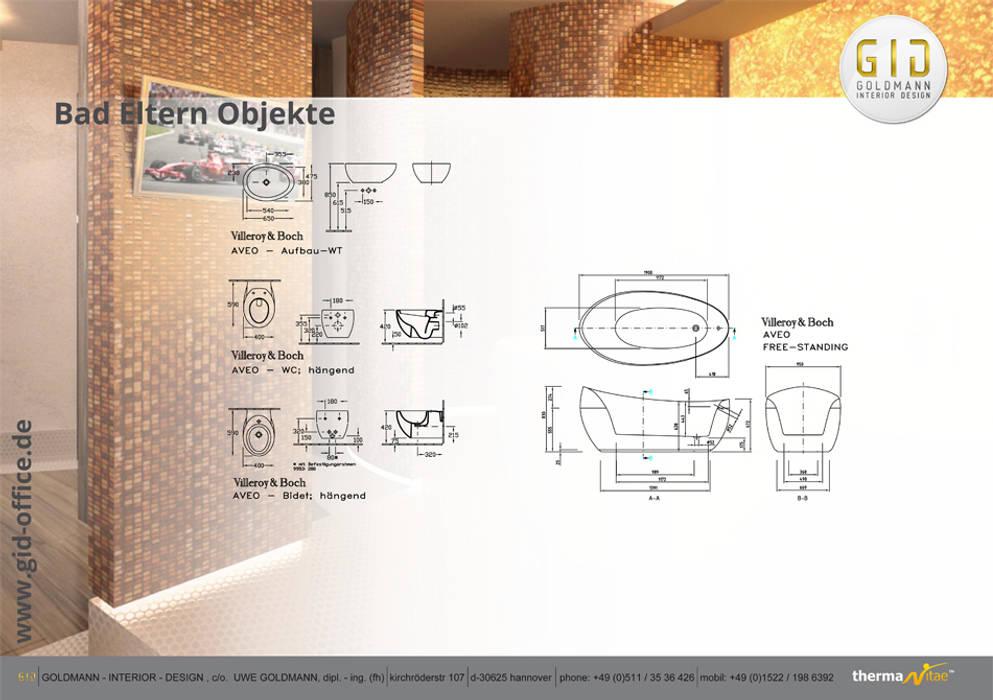 Nachher:  Badezimmer von GID│GOLDMANN - INTERIOR - DESIGN