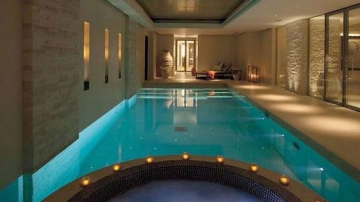 A House in St Saviours Church, Knightsbridge, London Modern pool by 4D Studio Architects and Interior Designers Modern