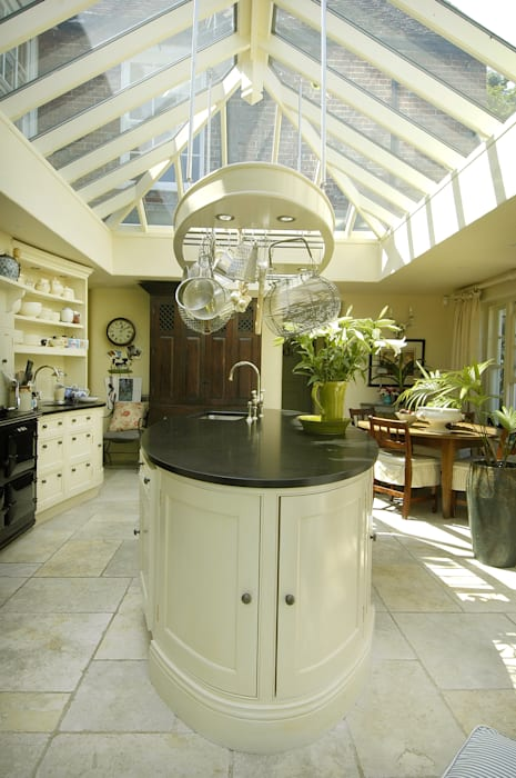 The Oval Kitchen by Fine Fitted Interiors