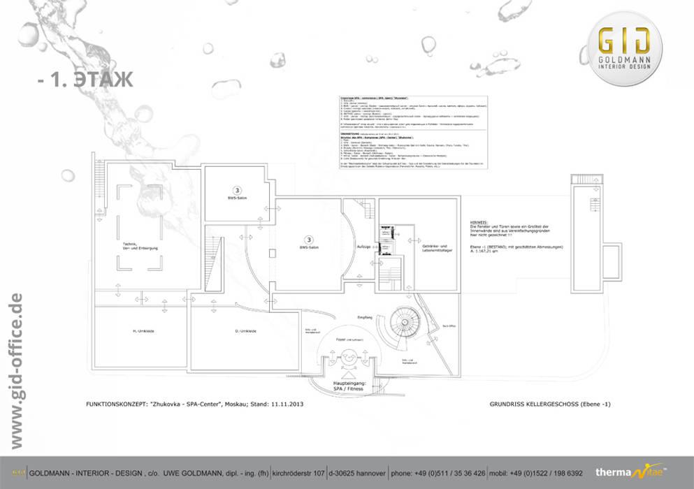 Nachher Moderne Praxen von GID│GOLDMANN-INTERIOR-DESIGN - Innenarchitekt in Sehnde Modern