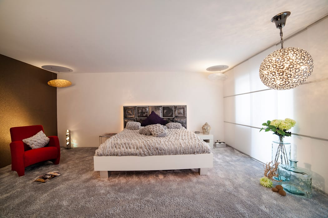 B R I N G E N Sie neuen Schwung in Ihr Schlafzimmer: ausgefallene Wohnzimmer von Design by Torsten Müller