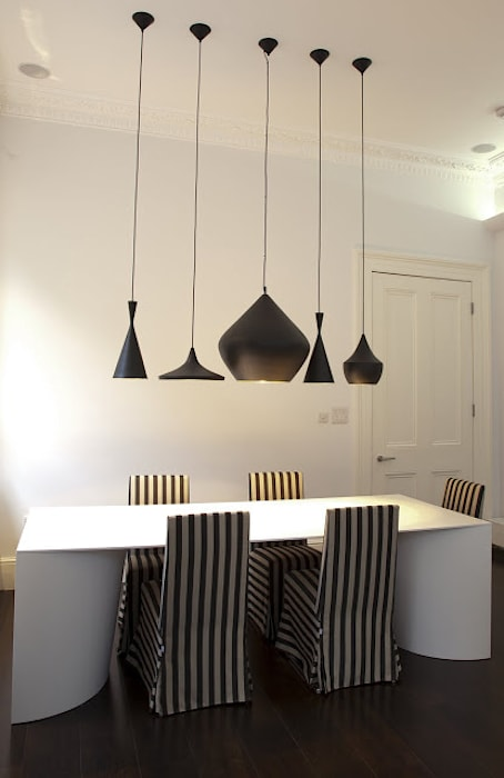 Historic House, Notting Hill, London:  Dining room by 4D Studio Architects and Interior Designers, Classic
