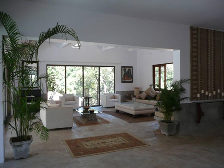 Salas de estilo  por 4D Studio Architects and Interior Designers
