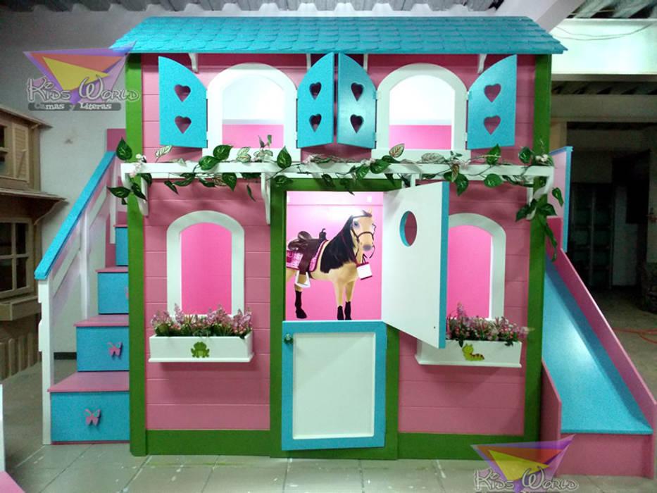 Casita Tipo Caballeriza Para Niñas Habitaciones Infantiles De