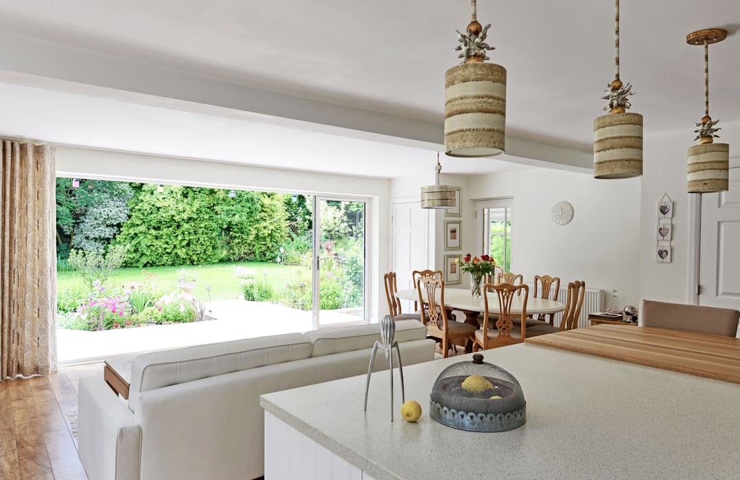 Contemporary take on a French Country Kitchen At No 19 Eclectic style kitchen