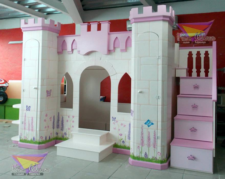 Castillo Litera Para Niñas Habitaciones Infantiles De Estilo Por