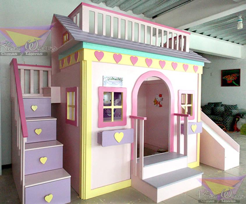 Casita Litera Para Niñas De Corazones Habitaciones Infantiles De
