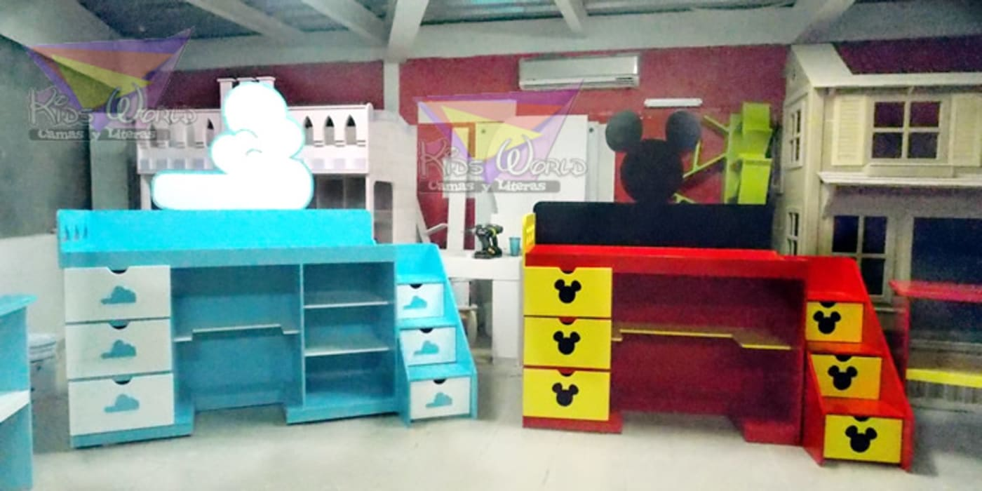 Office spaces & stores  by camas y literas infantiles kids world