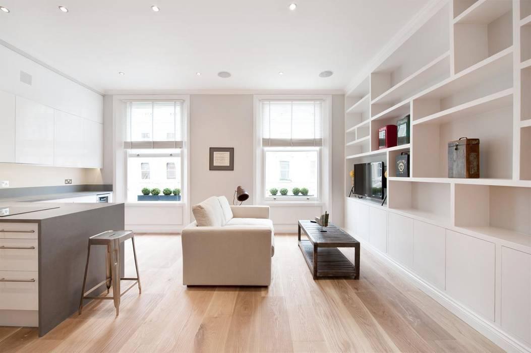 Salas / recibidores de estilo  por Ardesia Design, Moderno