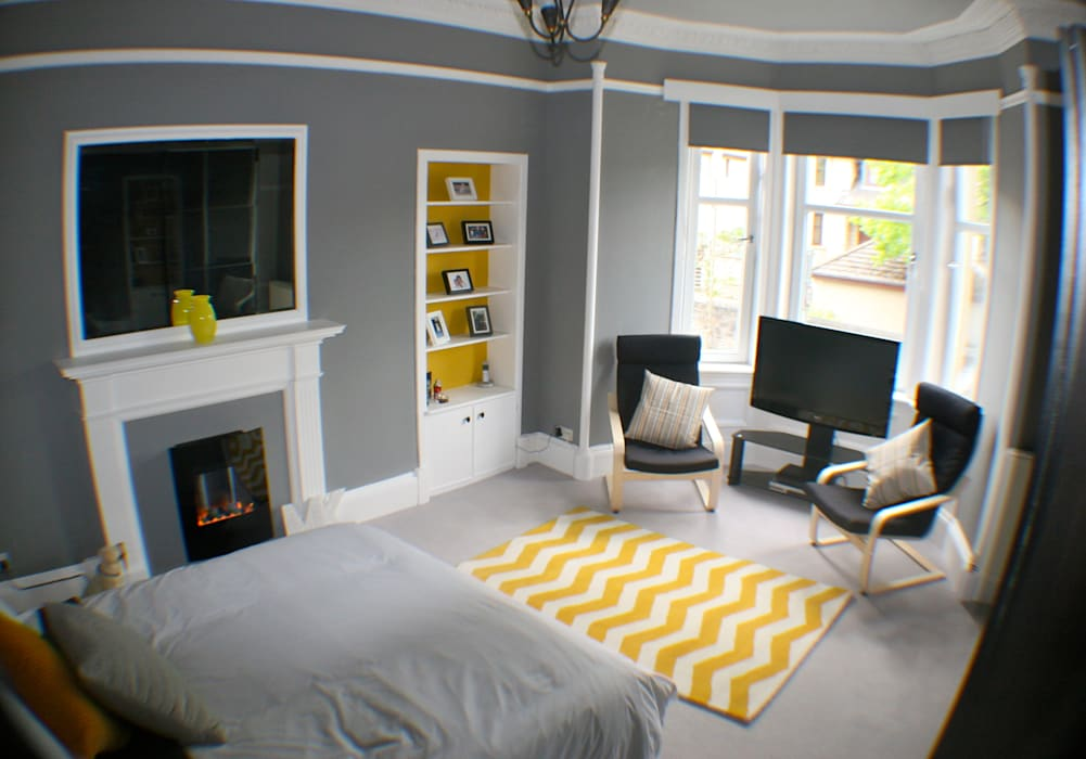 After:  Bedroom by Isolution Interiors