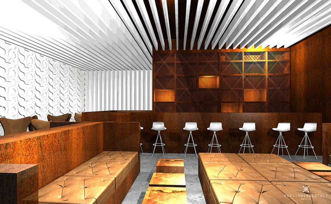 Entwurf und Konzept Bar in Berlin Moderne Gastronomie von Büro VonSchöngestalt Modern