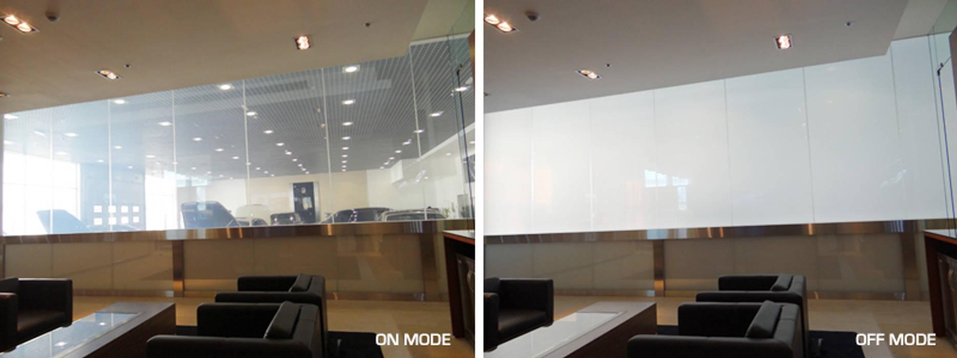 Vidrios de privacidad Concessionarie d'auto moderne