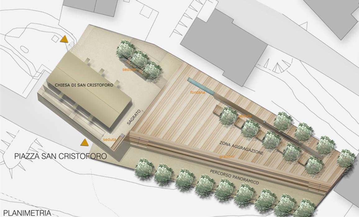 Interventi di riqualificazione urbanistica ed arredo urbano della piazza S.Cristoforo di beatrice pierallini