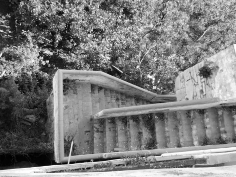 casa dentro le mura_ante operam: Case in stile in stile Mediterraneo di laboratorio di architettura - gianfranco mangiarotti