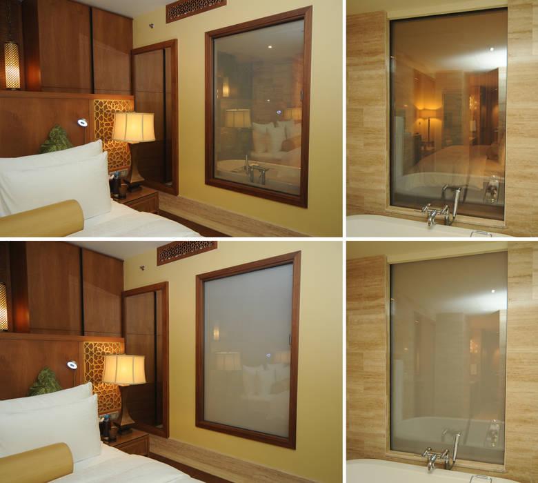 "Moevenpick Hotel Resorts ""Ibn Battuta Gate"" & ""Deira"" Vidrios de privacidad Hoteles de estilo moderno"