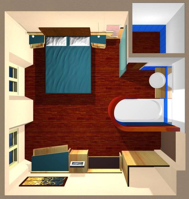 Hotel Art Hotel in stile eclettico di laboratorio di architettura - gianfranco mangiarotti Eclettico