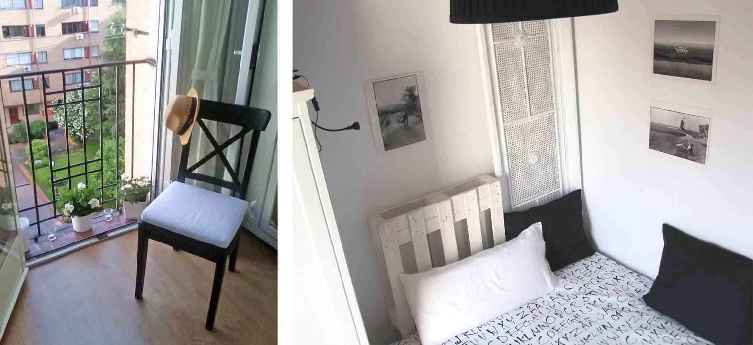 dormitorio en Retiro, Madrid CarlosSobrinoArquitecto Dormitorios de estilo ecléctico