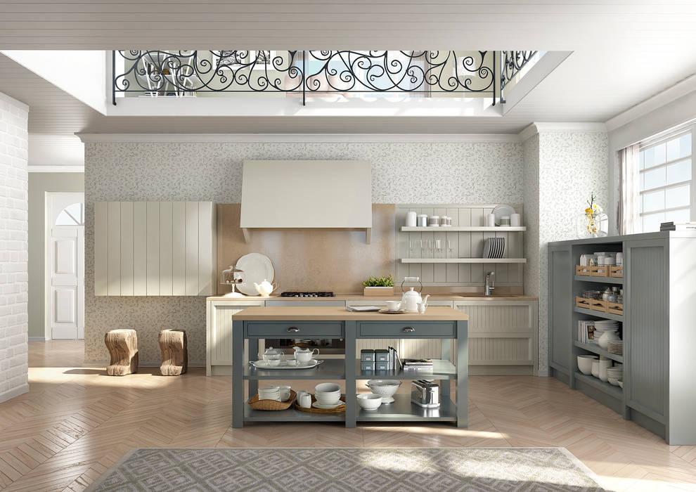 NUANCE DECO' Cucina eclettica di AURORA CUCINE Eclettico