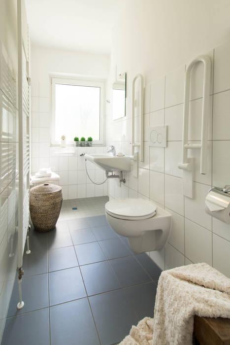 Badezimmer nachher:  Badezimmer von Luna Homestaging