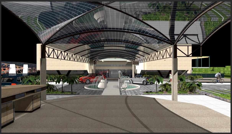 Marquesina de la entrada: Palacios de congresos de estilo  de CADOT