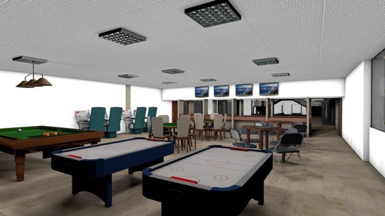 Sala de juegos Juvenil: Palacios de congresos de estilo  de CADOT