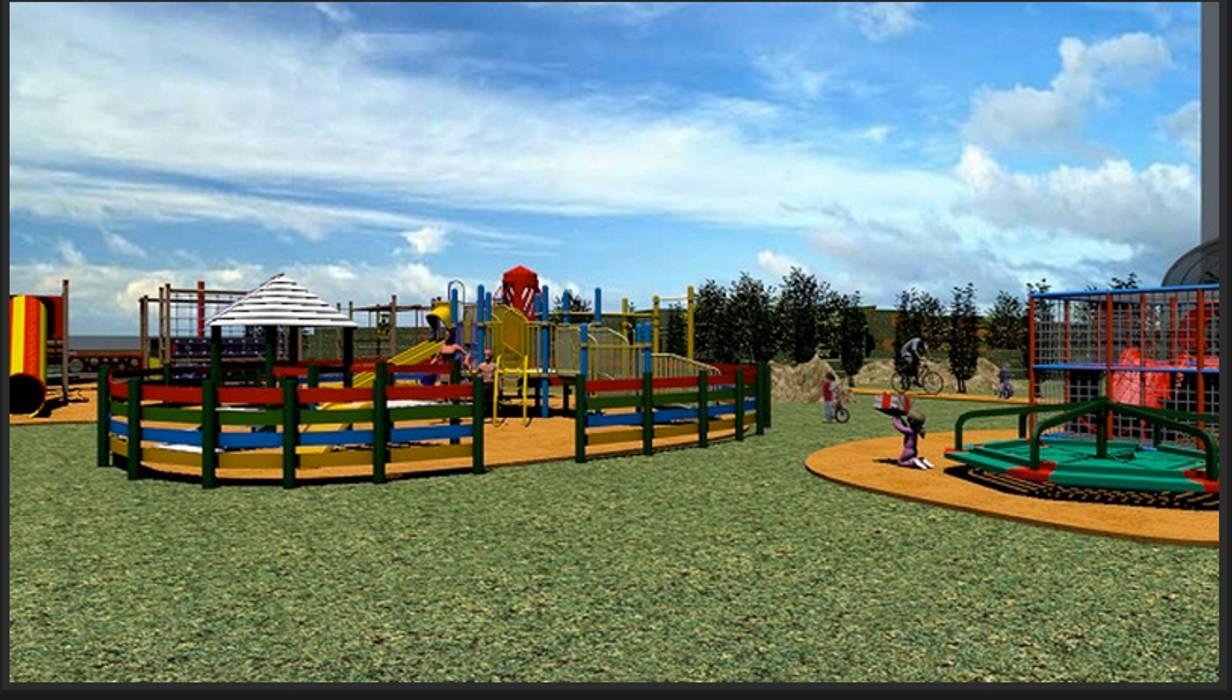 Playground I: Palacios de congresos de estilo  de CADOT